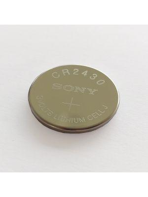 Batterie CR 2430 für Somfy Steuerungen Centralis RTS und Telis RTS